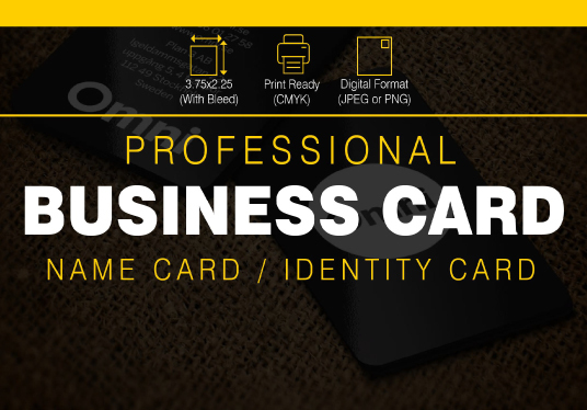 I will Design Professional Business Card, Stationary And Flyer
