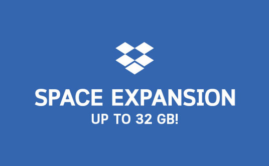 I will increase your Dropbox storage to 32GB