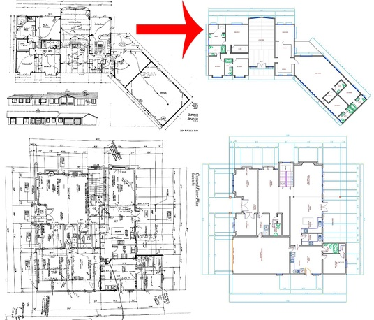 I will Redraw Floor Plan For Real Estate Agents, Engineers, Architects From Any PDF, Hand sketch,