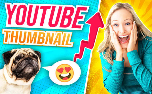 I will Design Catchy And High Quality Youtube Thumbnail