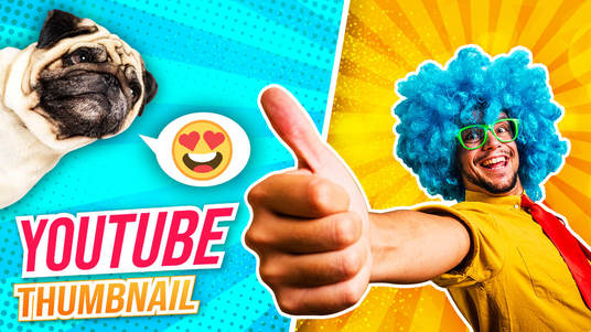 Design Catchy And High Quality Youtube Thumbnail