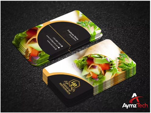 Design Outstanding Business Card, Print Ready