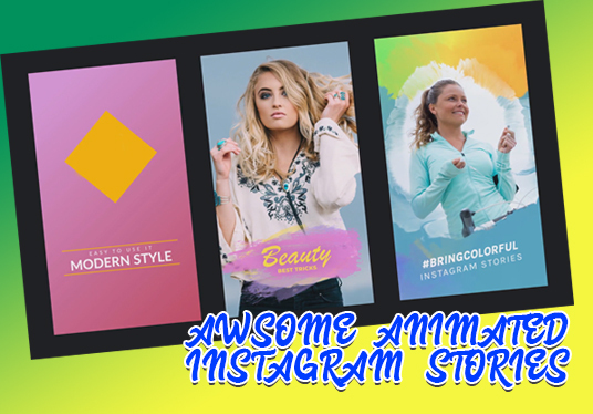 I will create 2 awesome Instagram video banners