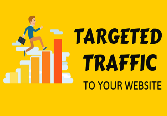 I will drive your targeted traffic to your  website