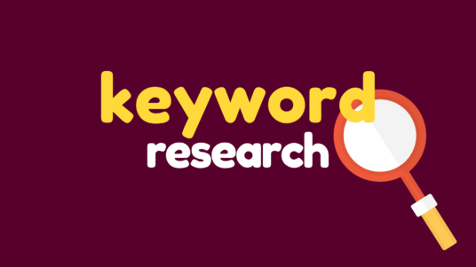 do SEO keyword research for your blog or affiliate website