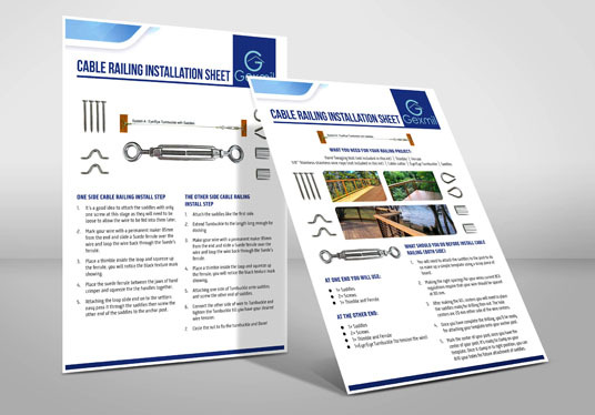 I will do User Manual, Product Guide, Sales Sheet