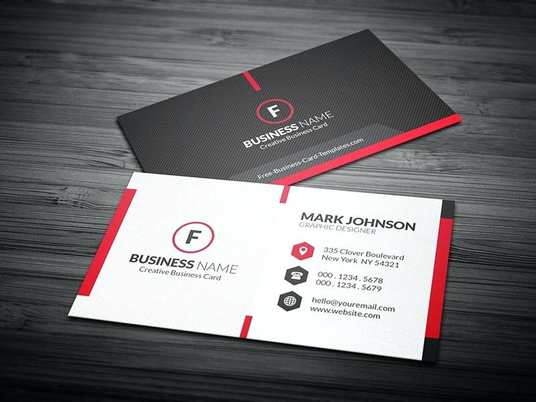I will design unique business card with free source file