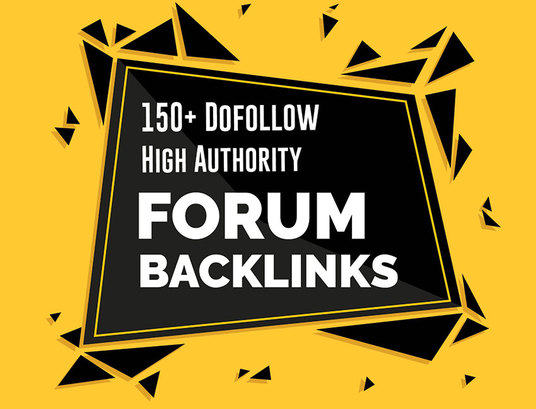I will Do 150 High Authority Dofollow Forum And Profile Backlinks for google ranking