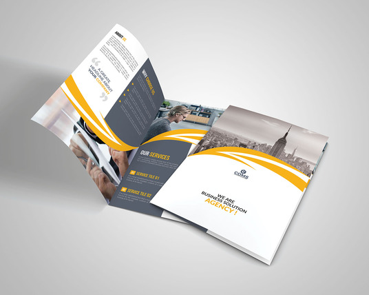 I will design Tri-fold, Bi-brochure