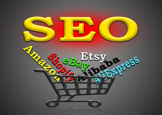 do manual SEO for Amazon, eBay, Etsy, Shopify or any other store or product
