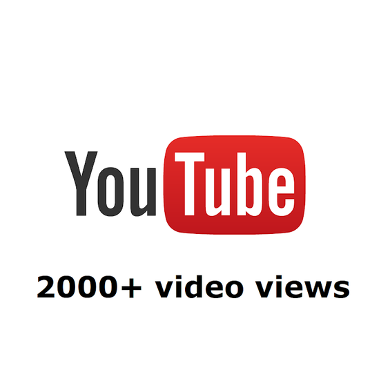 I will Provide 2000+ Youtube Video Views, 200+ likes, 100+ subscribers
