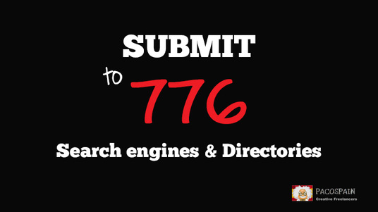 I will submit your website to 776 search engines and directories