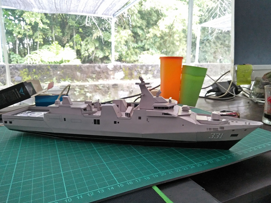 I will design paper model based on your idea