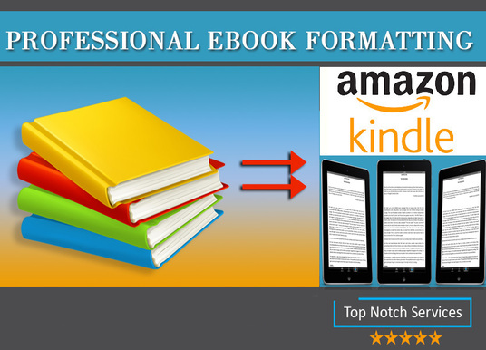 I will Format Your eBook And Print Book For Self or Kindle Publishing