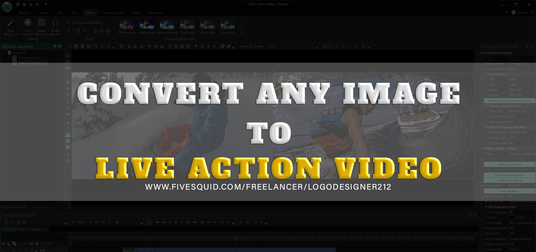 I will convert any Image to Live Action Video
