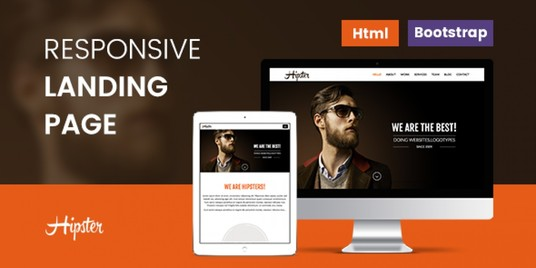I will Design Responsive Landing page