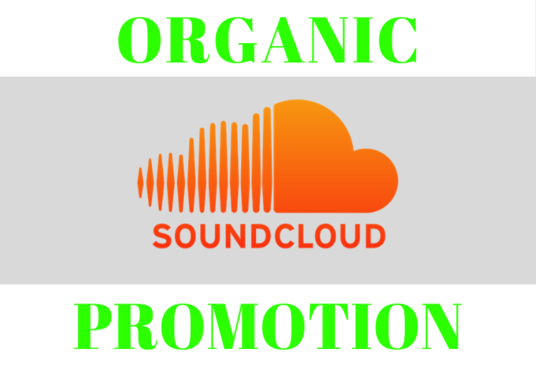 I will Do Organic Sound Cloud Promotion