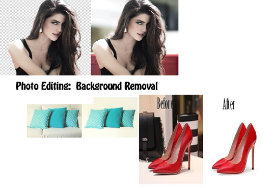 do Background Removal of 10 Images