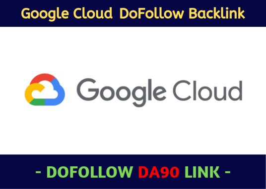 I will Write And Create A Google Cloud DA 90 Backlink