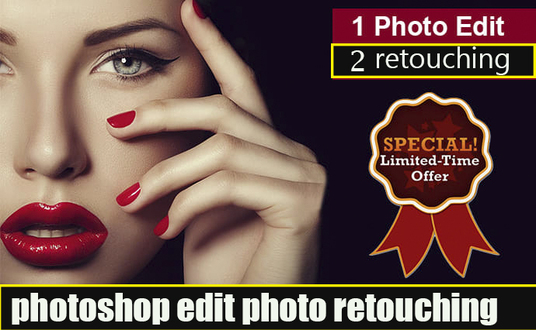I will Photoshop Editing  Retouching Quickly Super Fast