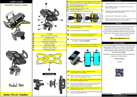 I will design instruction manual, step by step for your product