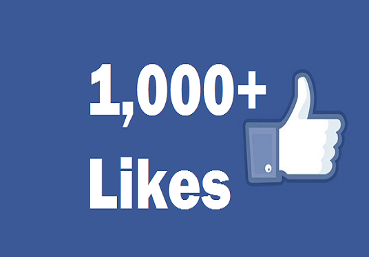 I will Give You 1000+ Facebook Fanpage likes or Followers