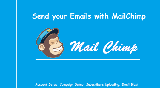 I will Provide you complete MailChimp services to run your E-mail Compaigns