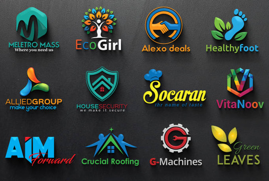 Design Professional 2d & 3d Logo With Copyrights