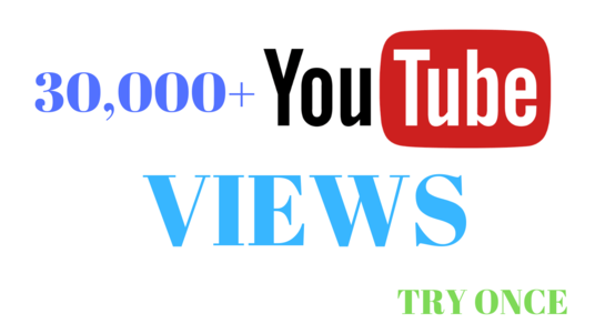 I will amplify 30,000 youtube video views  just 3 days