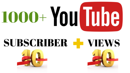 I will Serve You Organic Youtube Video Subscriber & Views