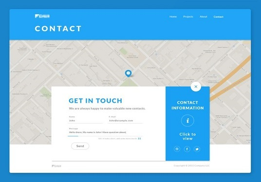 create an awesome contact form