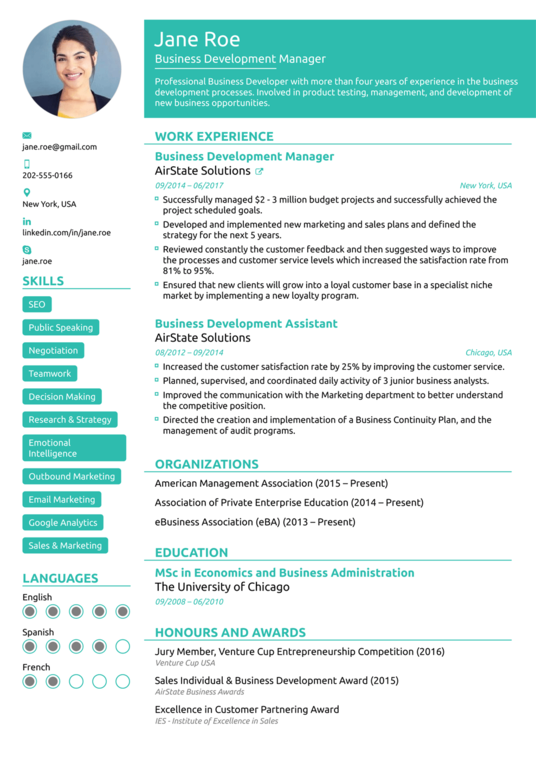 I will design resume,CV or Cover letter for you