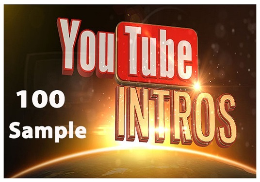 make an awesome youtube intro