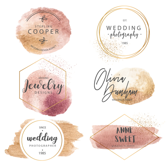 I will design watercolor signature logo with unlimited revisions