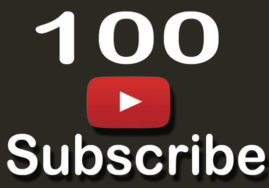 I will give 100 Subscribers to your YouTube Channel