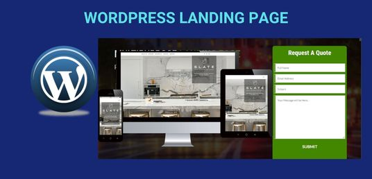 I will create high converting landing page