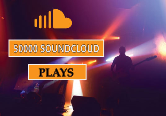 I will Give you 50000 SoundCloud plays