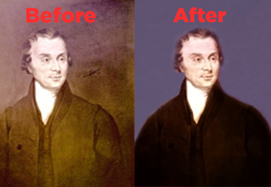 restore your old image professionally
