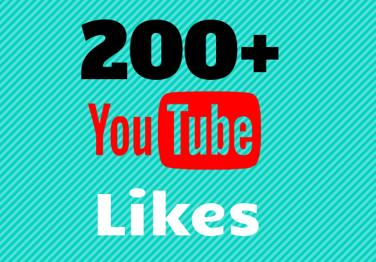add 200 Youtube Likes to your Video
