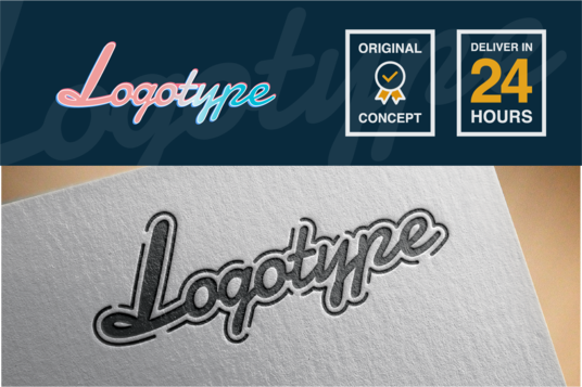 I will design 2 creative logotypes in 24 hours
