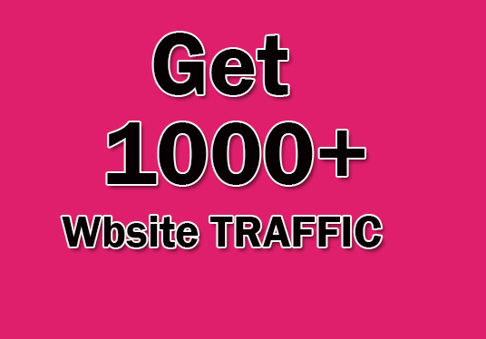 I will Drive 1000+ web Traffic