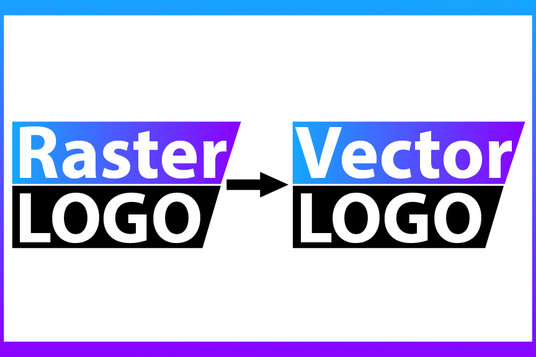 I will vectorize, redraw existing logo to vector