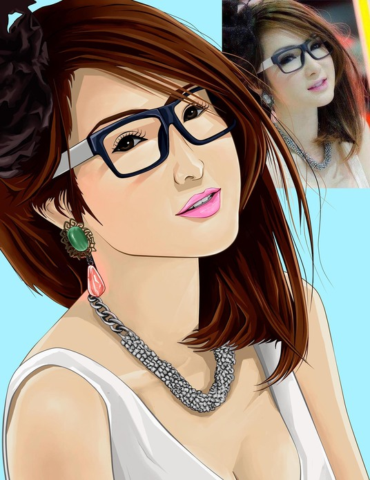 I will create  Cartoon Character Portrait