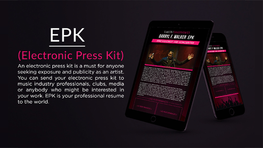 I will Design Corporate Press Kit, Media Kit, EPK