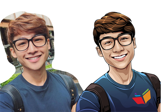 create awesome cartoon of your photo in 3 days