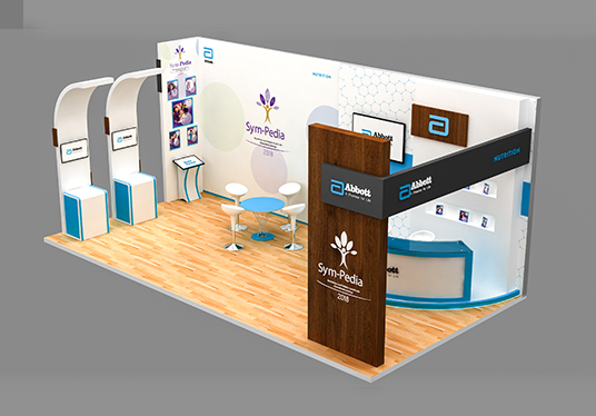I will Do Creative 3d Exhibition Stall  Booth