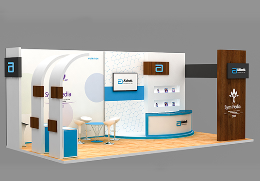 Do Creative 3d Exhibition Stall  Booth
