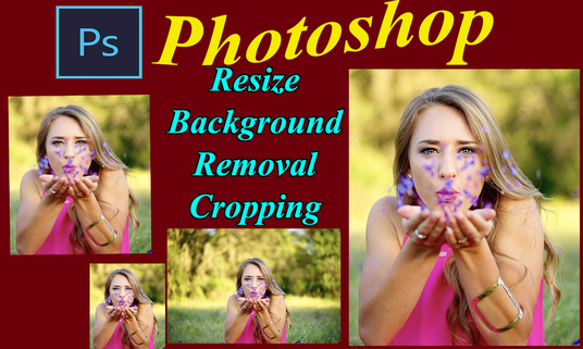 I will Resize, crop, optimise Multiple images up,to 100 or more for you