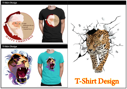 I will do T- Shirt Design