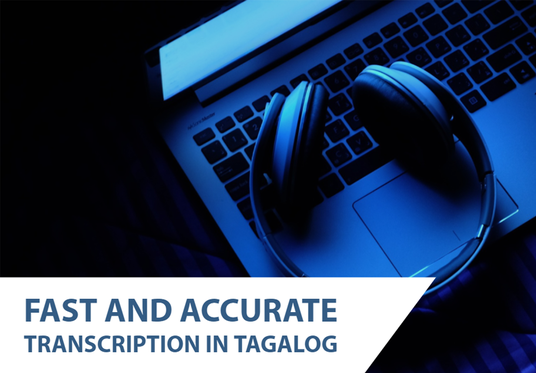 I will transcribe Tagalog audio or video